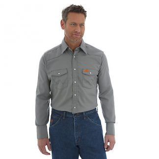 Wrangler FR Long Sleeve Charcoal