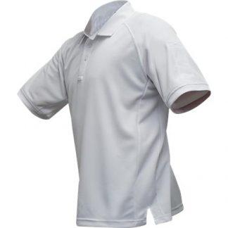 VTX MENS COLDBLACK SHORT SLEEVE POLO WHITE