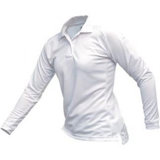 WOMENS COLDBLACK LONG SLEEVE POLO WHITE