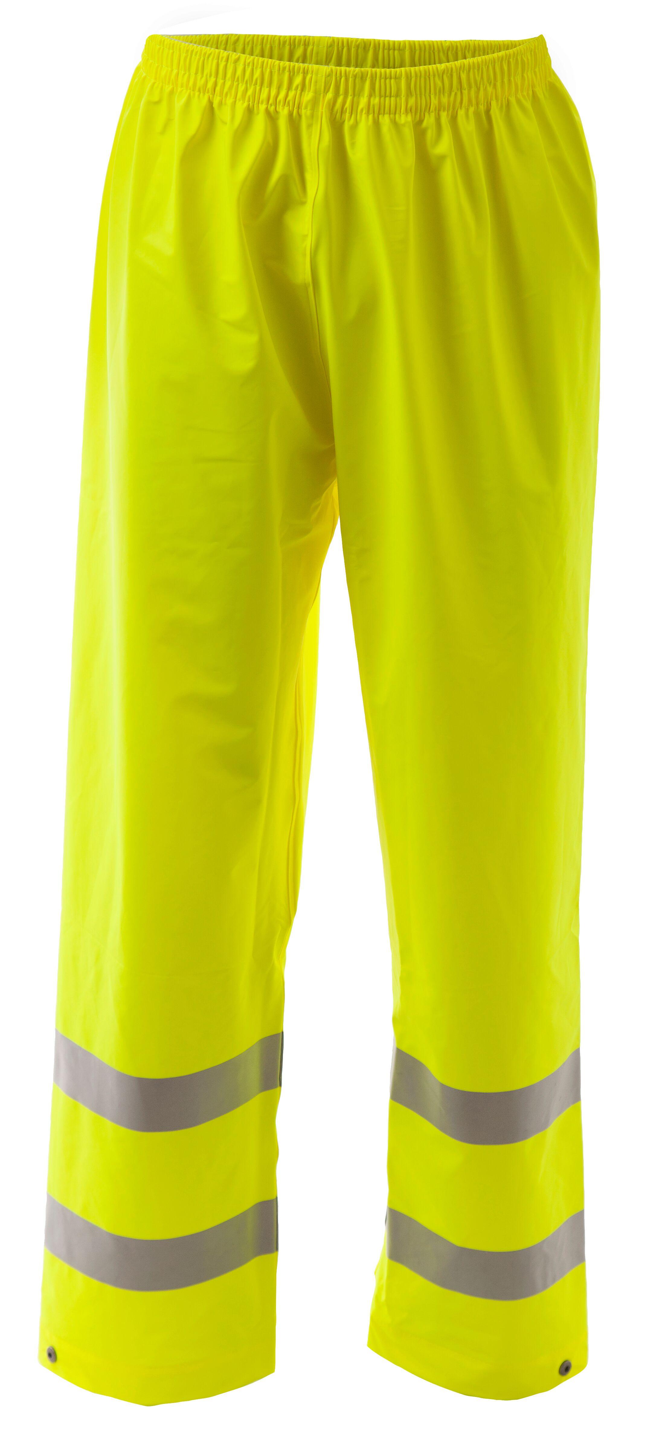 Portwest Sealtex Flame Resist Hi Vis Trouser Pant Safety Workwear Yellow FR43 XL for sale online